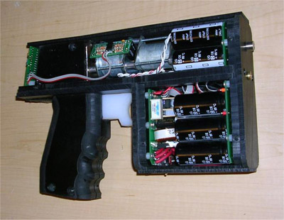 gaussian-pistol